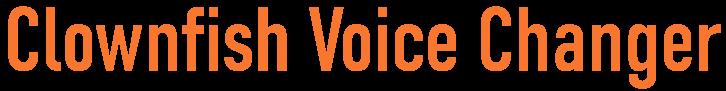 Clownfish Voice Changer logo