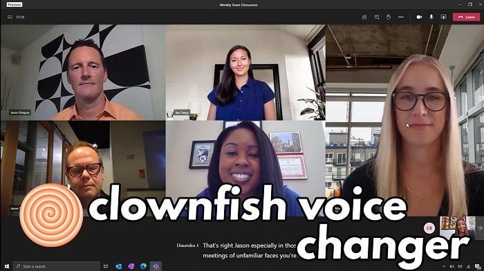 CLOWNFISH VOICE CHANGER FOR MICROSOFT TEAMS